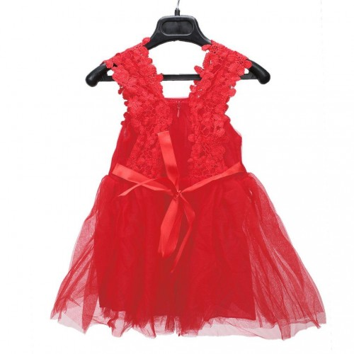 New Summer Baby Girls Lace Flowers Casual Kids Vest Dress Sleeveless Dress