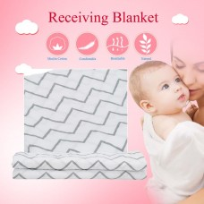 Baby Infant Stripe Type Cotton Swaddle Cloth Receiving Blanket