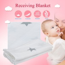 Baby Infant Star Type Cotton Swaddle Cloth Receiving Blanket