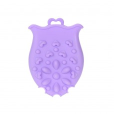 Baby Body Massage Facial Brush Tiptop Scalp Scrubber Silicone Cleansing Bath Shower Brushes For Kids and Adults