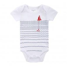 Baby Rompers Bodysuit 100% Cotton Short Sleeve Unisex Newborn Baby Clothing 3M